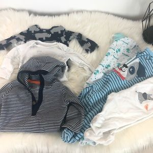 Bundle baby boy clothes 3 months Long sleeves pjs